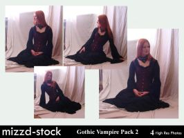 Gothic Vampire Pack 2 by mizzd-stock