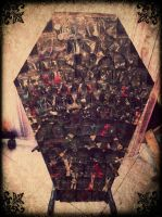 Coffin Display by TheLovelyBoutique