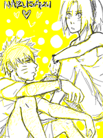 NaruSaku . Yellow by starchiishio