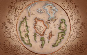 Oceana Map by Chickenwhite