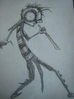 Johnny The Homicidal Maniac by dragonsin