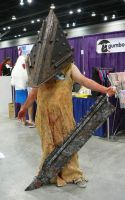 Pyramid Head by Emerarudo-chan