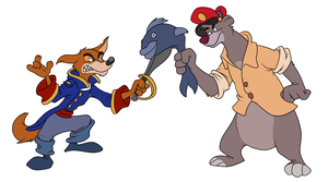 Don Karnage vs. Baloo by BocianPL