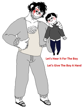 The Boy by triple65forkedtongue