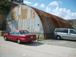 Rusted Quonset by FhynixPhotos