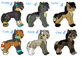 Male Breeders :CLOSED!: by MUDDii