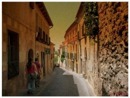 Streets of Spain by ladybirdx