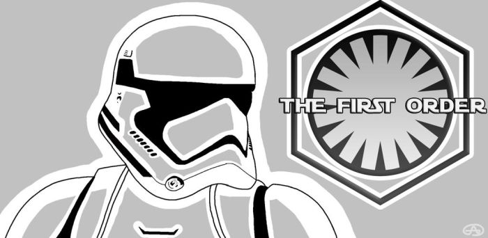 The First Order Stormtrooper by Primus0123