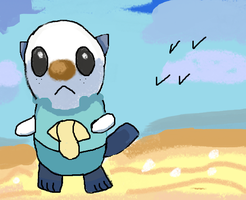 Seaside- Oshawott:) by Fran48