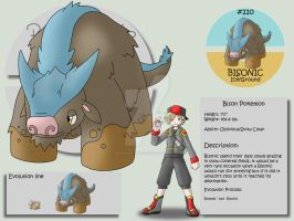 110 - Bisonic by Pokemon-Mento