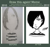 Redraw: Emo Dude by uglyduckbella