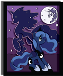 Nightmare Nights 2015 Exclusive Luna Mock-up by The-Paper-Pony
