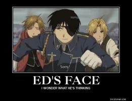 Ed Face by AlphaMoxley95