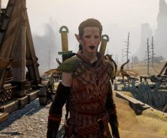 My Dragon Age Inquisitor by SpaceCowboy-D