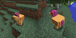 Minecraft Chicken Scootaloo Texture Pack by Thorinair