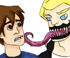 "June 13-""Venom""BrockxPeter by Emptygoldeyes"