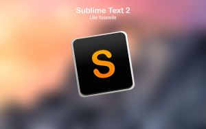 Sublime Text 2 Like Yosemite Icons by paulobrandao
