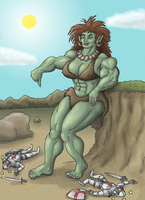 Ogress by SkyJaguar