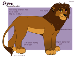 Ekevu Ref Sheet 2013 by Frosstie