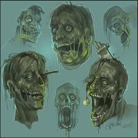 dead faces by Kostya-PingWIN