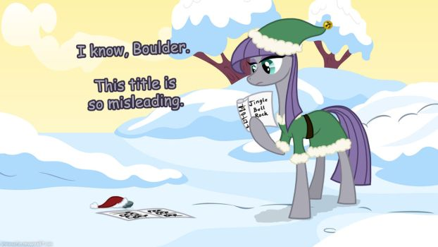 ATG 4, Day 8: Jingle Bell Maud by grievousfan