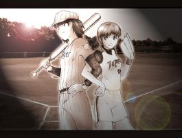 Softball Field by MuzzaThePerv