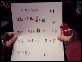 Ransom Note by Zenity