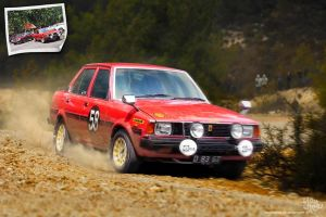 Toyota Corolla DX KE70 Rally by idhuy