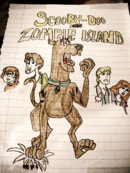 Scooby on Zombie Island by ThatTMNTchick