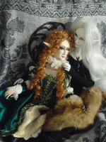 the Faery Queen has her King 2 by Dollysmith