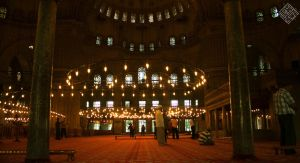 inside the blue mosque by iraqiguy