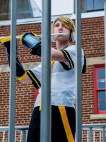 Music in the Park- Kagamine Len Cosplay by FatTanukiSewing