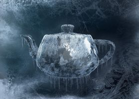 Teapot Ice Study by Kayo7