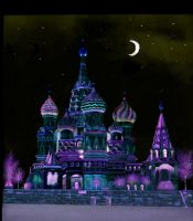 Moscow by night by Julemus