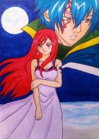 Erza x Jellal: This is our answer... by dagga19 by dagga19