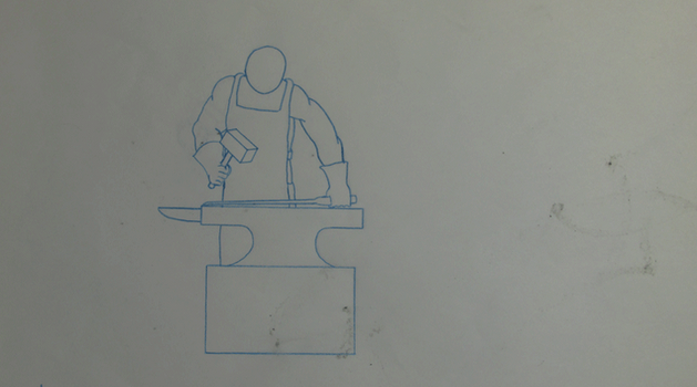 Blacksmith GIF Animation - Pencil by Jed-Stuart