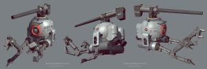 RB 79 mobile pod game model by limiao
