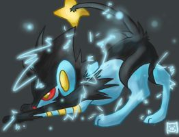 AT, Luxray's Spark by Nyankyuu