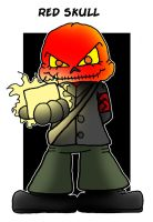 Lil' Red Skull by 5chmee