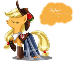 Gala Fashion 2013 - Applejack by selinmarsou
