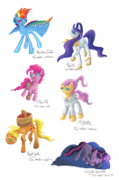 My Little Pony: Puberty is Magic by GlacialFalls
