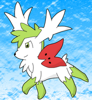Shaymin by BlueSmudge