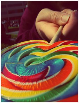 Rainbow Swirls by Kiltul