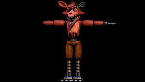 Withered Foxy W.I.P 2 by CoolioArt