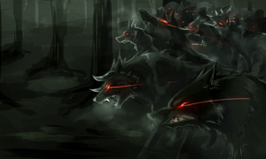 [Speed Paint]Hellhound[EBF] by Galecoroco