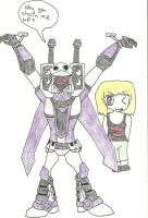 Captured Blitzwing by Shadowismrevilgecko