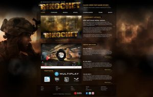 Website for PC Game by djnick2k