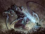 Narcturias the Behemoth of Night by Stoskri