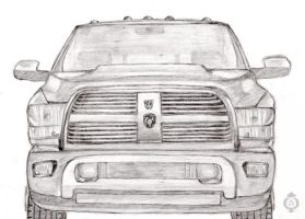Traction - Dodge Ram H.D 2010 by Sheppard56