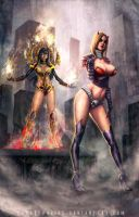 Girls Desire N Amour By Paulobarrios by City-of-Zeroes